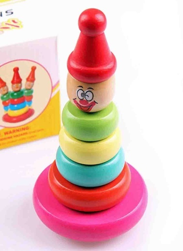 Wooden Shake Tower-Wooden Toys
